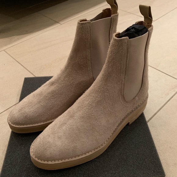 2fa3f1bd0 Yeezy Season 6 Suede Chelsea Boots
